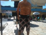 nadador anonimo com bermuda Arena