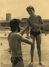 Clube Paineiras do Morumby, 1980.