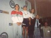 Prata no TB do ECP em 1992, vitória de Oscar Godoi e bronze para Cordani.