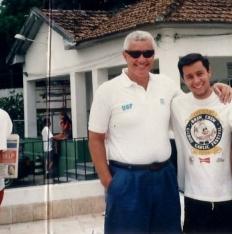 Reencontro com Tião na gama Filho da Taquara em '96... essa piscina não existe mais.