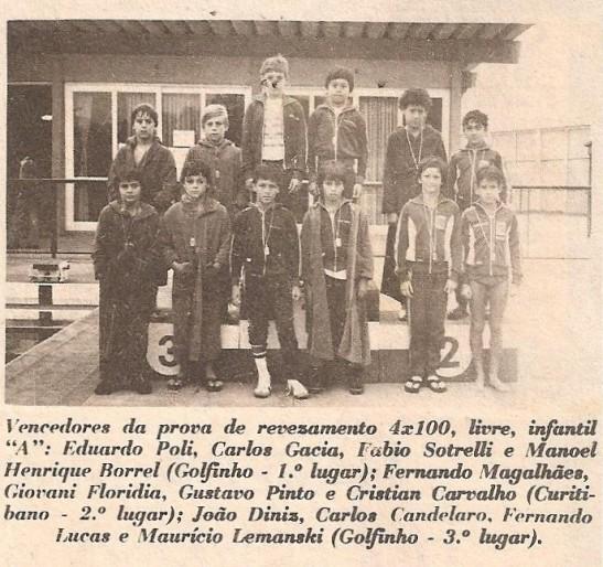 """Publicada no jornal """"O Estado do Paraná"""" em 24/04/1979. Acervo Luiz Fernando Graczyk"""