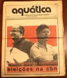 Capa do Jornal Aquática dez 1984