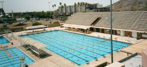 O excelente parque aquático da Arizona State University era um dos motivos citados para convencer os recrutas a escolherem a ASU.