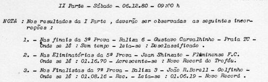 Mas foi corrigido na errata publicada no resultado do dia seguinte. Esses resultados são do acervo de Renato Cordani.