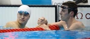 Sun Yang vence os 1500m nas Olimpíadas de Londres com mais de 8 segundos de vantagem!
