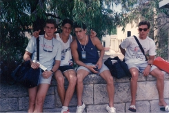 Mundial de Perth 1991: Polaco, Pirula, Ramalho, Manu.