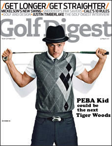 Capa da Golf Digest