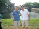 Eu e JG em Tóquio