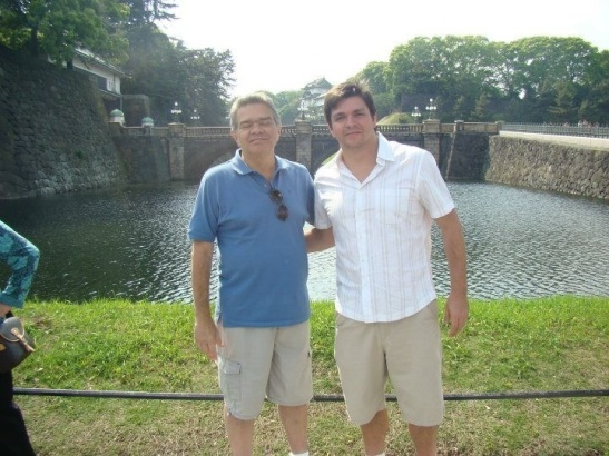 Eu e JG em Toquio