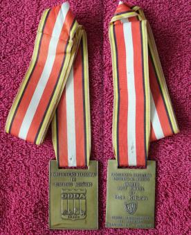 Bronze no Finkel 1990 400 Medley.