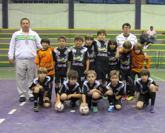 Time de futsal do Clube Atlético Valinhense, onde meu filho é um dos 13 craques do time.