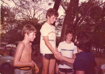 Sede de Campo do Palestra em São José do Rio Preto 1983