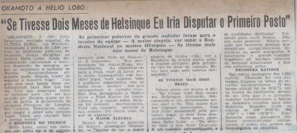 Ultima Hora 03 Agosto 1952