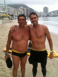 Getúlio e Luiz Lima, feras.