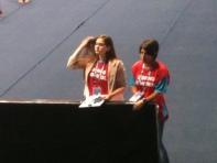 O controle anti-dopagem estava na cola das meninas do pódium.