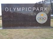 A placa dos jogos olímpicos de 1956.