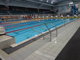 Piscina do Melbourne Sports and Aquatic Center.