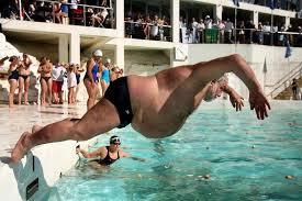 A beleza da natação Master