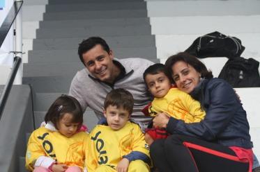 nossa família esperando as finais