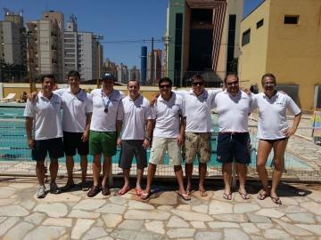 Equipe PEBA 1 com Lelo, sem Barros