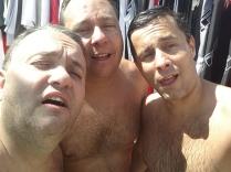 Bauru depois dos 200 Borbo... Zé, Rodrigo e eu