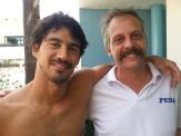 LAM com seu técnico de São José