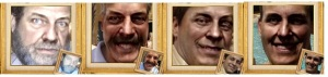 Um possível reveza de Peito... fotos envelhecidas em cerca de 30 anos (Renato, LAM, Munhoz e Minguez)