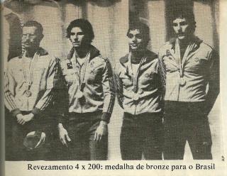 Nosso quarteto de bronze no pódio