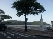 Sol em Santos