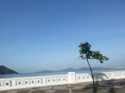 muito sol em Santos!