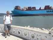 Navio bacana em homenagem ao Tulio