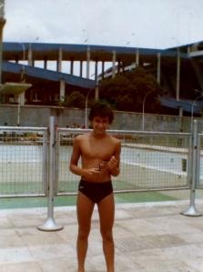 Primeiro frio na barriga no Julio Delamare... 30 anos atrás.