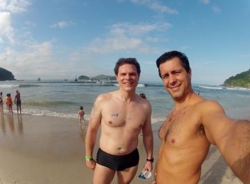 Becker e eu - 25 anos desde a última nadada juntos