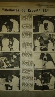 Diario de Bauru - Entrega do ACEB 83 (1/7/1984)