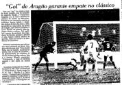 3) 9/10/1983. Vi ao vivo com o Caio Bianchi o gol de juiz do José de Assis Aragão, salvando o Palmeiras. O jogo pelo Paulistão estava 2x1 para o Santos e aos 46 do segundo tempo, na nossa última chance, chute de Jorginho, a bola bate no juiz e entra, empatando o jogo. https://www.youtube.com/watch?v=buApKDeergU . A foto peguei nesse site: http://footzaca.blogspot.com/2013/07/o-dia-em-que-o-juiz-marcou-um-gol-para.html