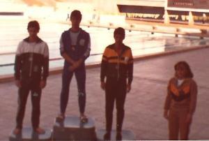 400m medley - Rebollal (RJ), Ramalho (PR) e Ricardo Barreto (CE)
