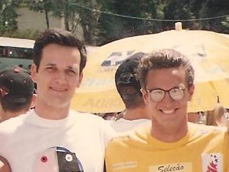 Anos depois - eu já aposentado - meu amigo Piu, ainda na ativa e se preparando para mais uma das suas 5 Olimpíadas.