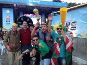 O sueco quis entrar na foto, o mexicano pôs o sombrero em mim e o guatemalteco me deu a taça