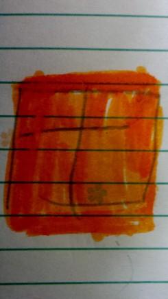 Cartão Laranja da minha filha para banir do esporte. Acho que a FIFA não aprovaria.