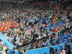 Lindas cores no estádio (1).