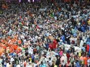 Lindas cores no estádio (2).