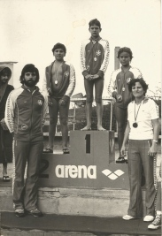 Pancho, Salsa, eu, Jorge Taiar e Fátima - 1981