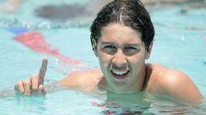Brandonn Pierry, vencedor do 1500m Livre no Troféu José  Finkel de 2014