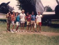 Pancho, Renato, Jorge, Rodigest, Arara, Paulão, Charlão, Buenos Aires, 1986.