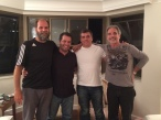 2014: Renato, Amendoim, Bonotti e Pancho.