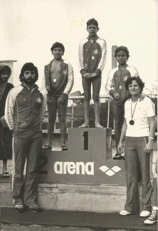 Paineiras 1981: Renato, Salsa, Jorge Taiar, Pancho e Fátima