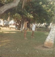Orientações antes da travessia 1987