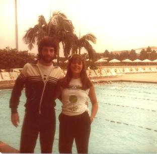 Pancho e Adriana Ruggeri, Paineiras, circa 1984