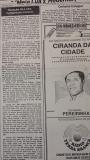 Recorte tipico do Diario de Bauru nos anos 80