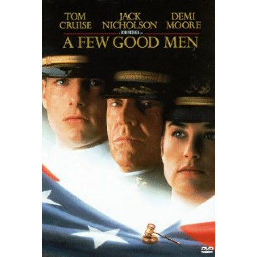review of a few good men A few good men stars tom cruise as united states navy lieutenant daniel kaffee, jack nicholson as marine colonel nathan r jessup, and demi moore as navy lieutenant commander joanne galloway, and jt walsh as jessup's assistant and executive officer.